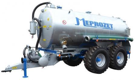 Cisterna PN 120 tandem (12 000 lt. standard)