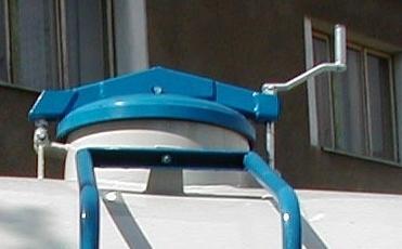 Horní víko - mechanické / hydraulické 420 mm