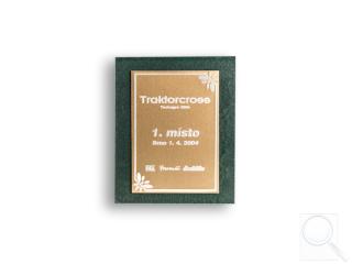 1. místo v soutěži Traktorcross - Petr Nezbeda ml. + Martin Fol