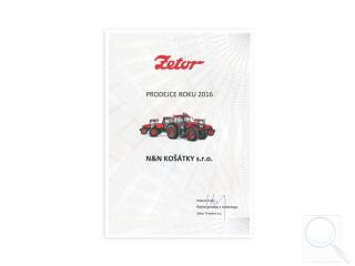 Zetor prodejce roku 2016