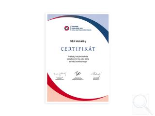 Finalista krajského kola Vodafone Firma roku 2016 Středočeského kraje