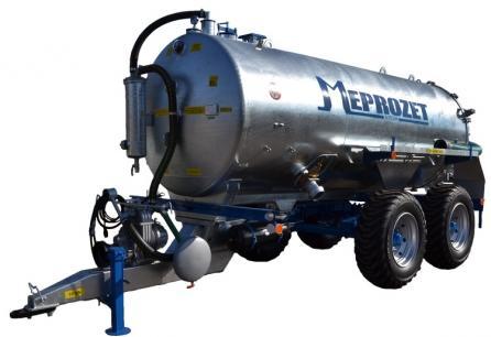 Cisterna PN 90 tandem (9000 lt. standard)